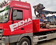 Přeprava strojů_Kompresory PEMA