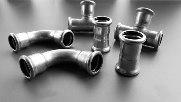 Rozvody vzduchu_lisované ocelové rozvody