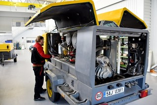servis kompresoru XAVS307