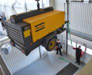 servis pojízdných kompresorů Atlas Copco