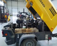 servis diesel kompresorů Alas Copco