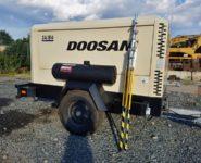 kompresory, osvětlovací balóny Doosan