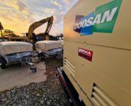 nové kompresory Doosan