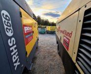 půjčovna diesel kompresorů Praha