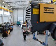 servis a opravy kompresorů