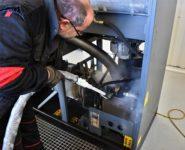 údržba kompresoru