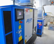 kontejnerová stanice s kompresorem Alup