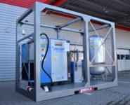 kontejnerové řešení kompresorovny